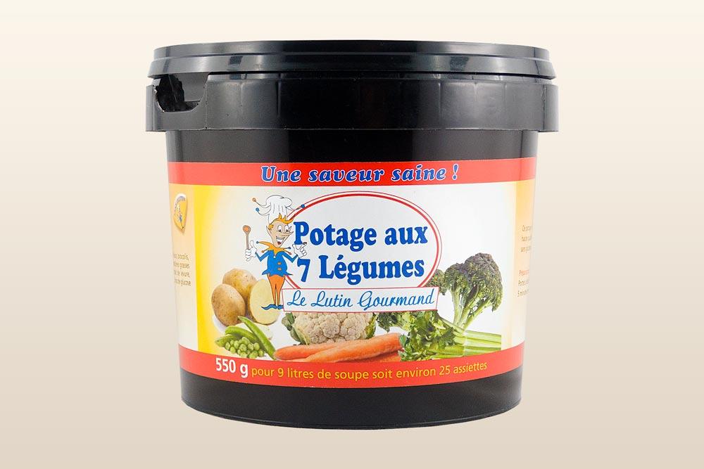 Potage aux 7 légumes